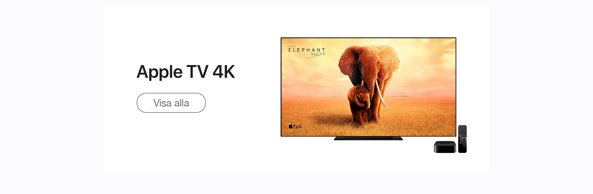 Få Apple TV+ gratis i ett år med en ny Apple TV