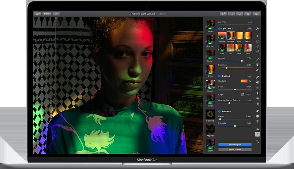 MacBook Air 2020 har Retinaskärm med oöverträffad bildkvalitet