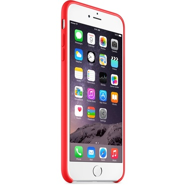 Apple iPhone 6 Plus Silicone Case - Red