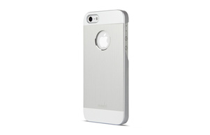 Moshi iGlaze Armour case iPhone 5 - Silver