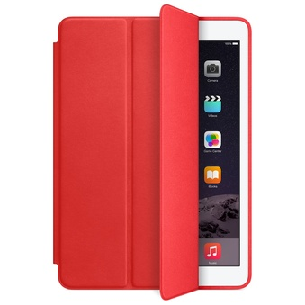 Apple Leather Smart Case för iPad Air 2 - (PRODUCT) RED