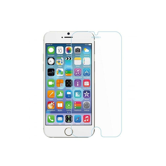 Pomologic - Clear Tempered Glass Screen Protector iPhone 6/6S Plus