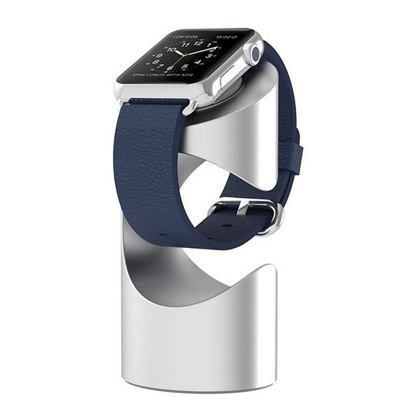 Just Mobile TimeStand för Apple Watch i Aluminium