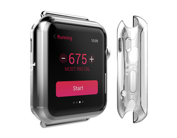HOCO Light TPU Series för Apple Watch 38mm - Transparent