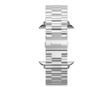 HOCO Rostfri länk 3- bands för Apple Watch 42mm - Steel