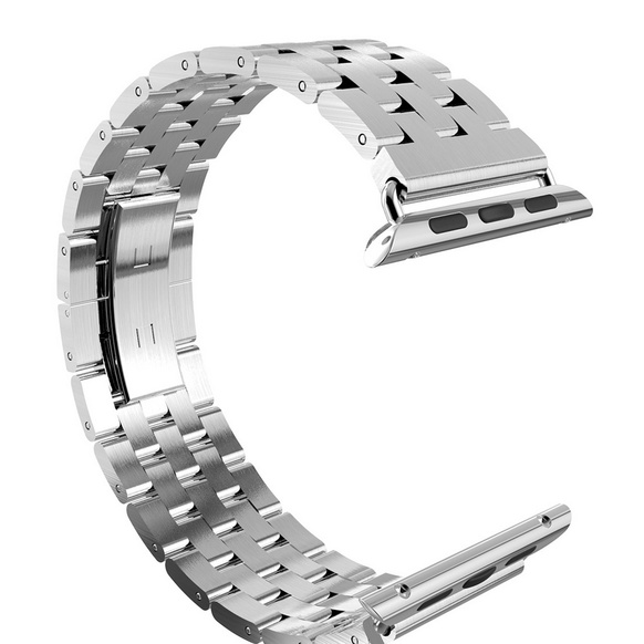 HOCO Rostfri länk 5- bands för Apple Watch 38mm - Steel