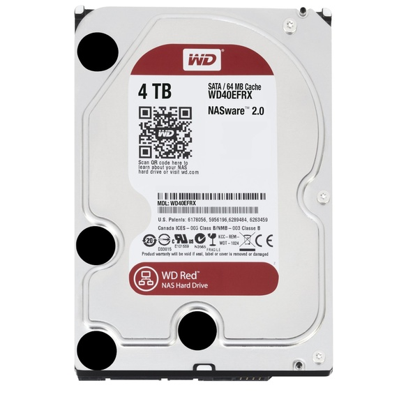 "WD Red 3,5"" 4TB 64mb cache"