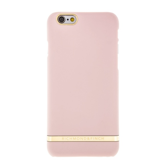 R&F för iPhone 5/5S/SE Smooth Satin Soft Pink