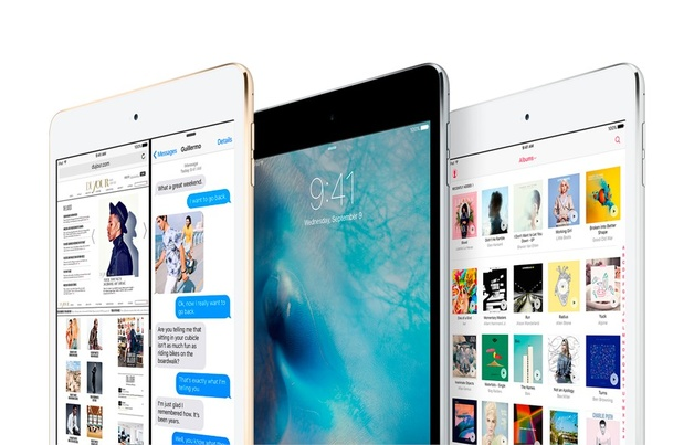 Apple iPad mini 4 128GB med Wi-Fi - Rymdgrå