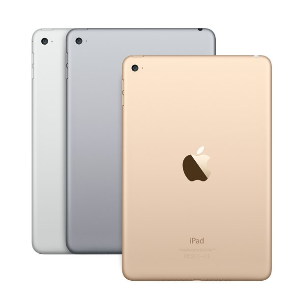 Apple iPad mini 4 128GB med Wi-Fi - Silver