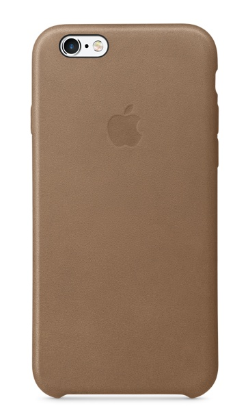 Apple iPhone 6s Leather Case - Brun