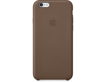 Apple iPhone 6 Leather Case - Olive Brown