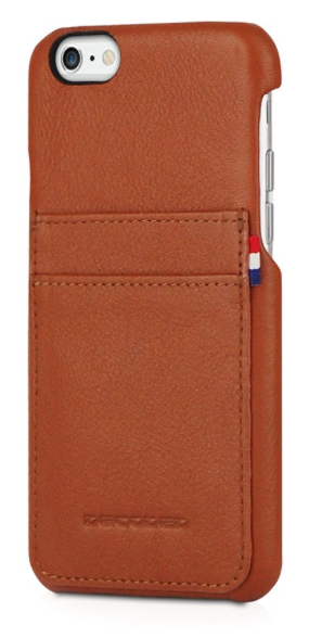 Decoded - Leather Back Cover för iPhone 6/6S - Brun