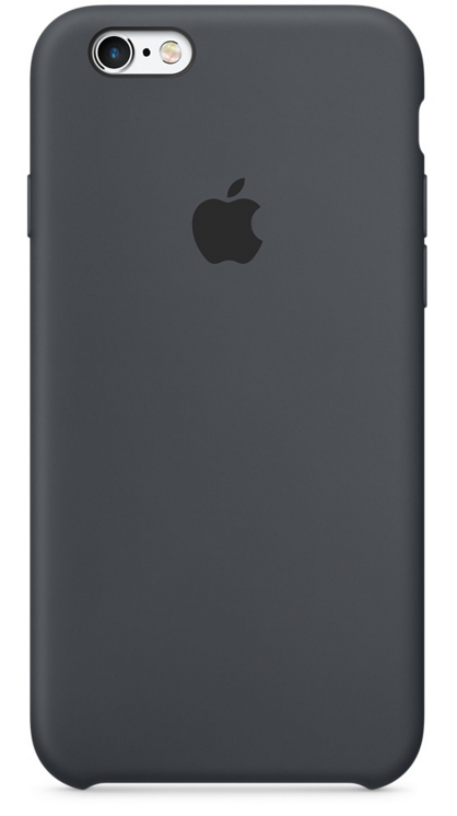 Apple iPhone 6s Silicone Case - Grafitgrå