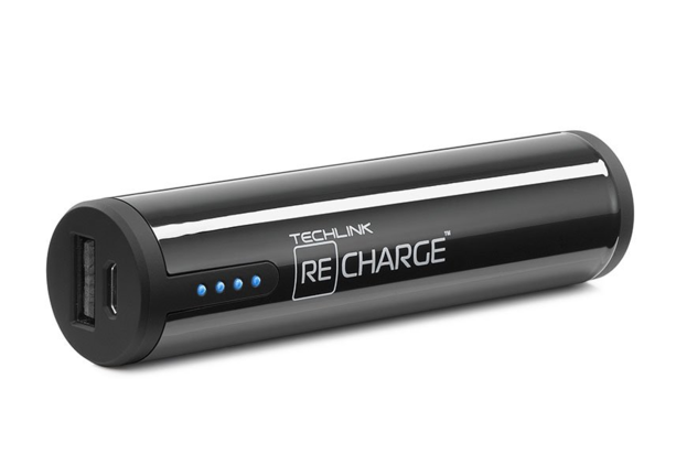 ReCharge Power Cylinder 2600 mAh - Svart