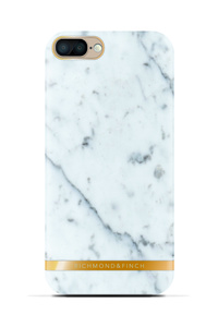 R&F för iPhone 7 Plus - White Marble Glossy