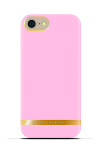 R&F för iPhone 7 - Smooth Satin Soft Pink
