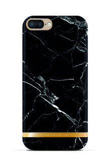 R&F för iPhone 7 Plus - Black Marble Glossy