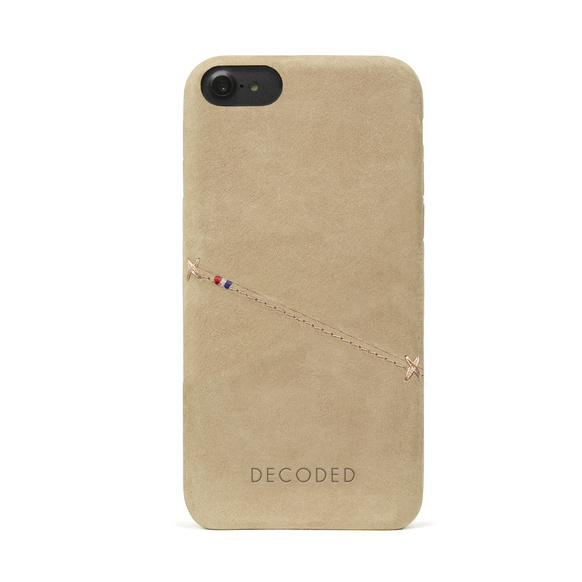 Decoded - Leather Back Cover för iPhone 6/6S/7