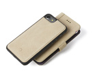 Decoded - 2 in 1 Leather Wallet Case Magnet för iPhone 7 - Sahara