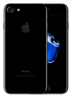 iPhone 7 256GB Gagat Svart