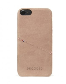 Decoded - Leather Back Cover för iPhone 6/6S/7 - Rose