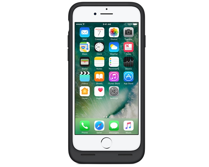 Apple iPhone 7 Smart Battery Case - Svart