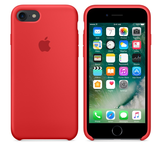 Apple iPhone 7 Silikonskal - PRODUCT(RED)