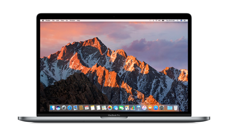 MacBook Pro 15  med Touch Bar i7 2.9GHz/16GB/512GB/ Radeon Pro 560 4GB - Rymdgrå