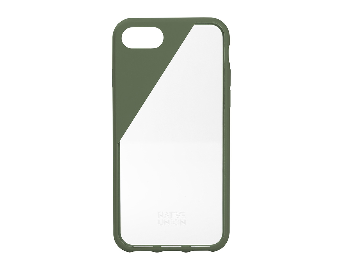 Native Union CLIC Crystal till iPhone 7 Plus - Olive