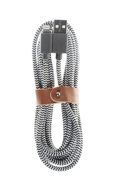 Native Union Belt Cable Lightning 1.2m - Zebra