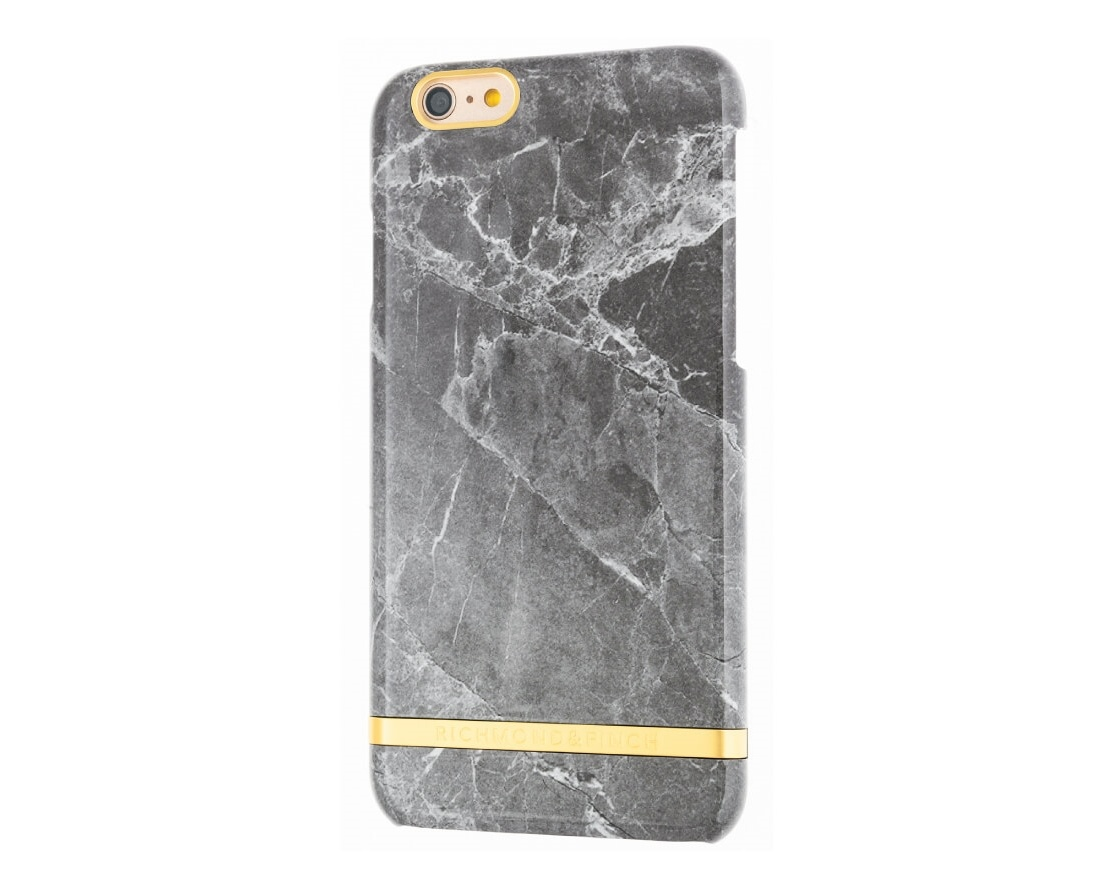 R&F för iPhone 7 Plus -  Grey Marble Glossy