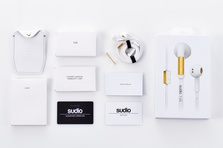 Sudio - TVÅ Wired Earphones - White