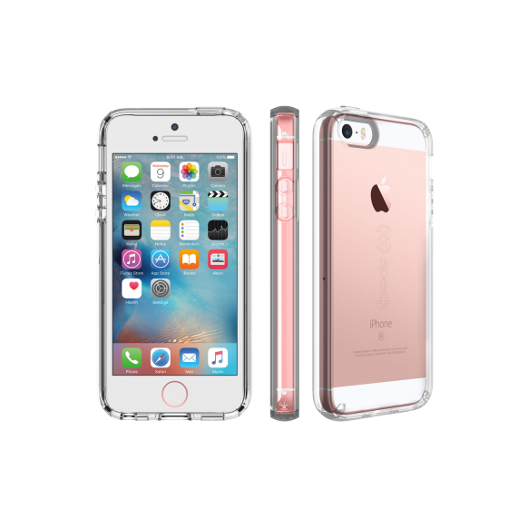Speck CandyShell Clear for iPhone 5/5S/SE -Clear