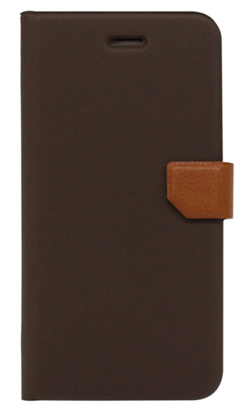 Fenice Diario Ver2 för iPhone 6 Plus 1+1=3 - Brown/Prestige Brown