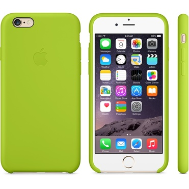 Apple iPhone 6 Silicone Case - Green