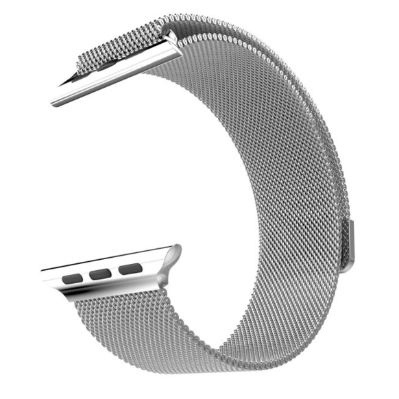 HOCO Rostfri länk Milanese för Apple Watch 42mm - Steel