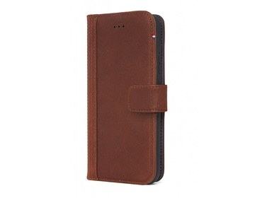 Decoded - 2 in 1 Leather Wallet Case Magnet för iPhone XS Max - Brun