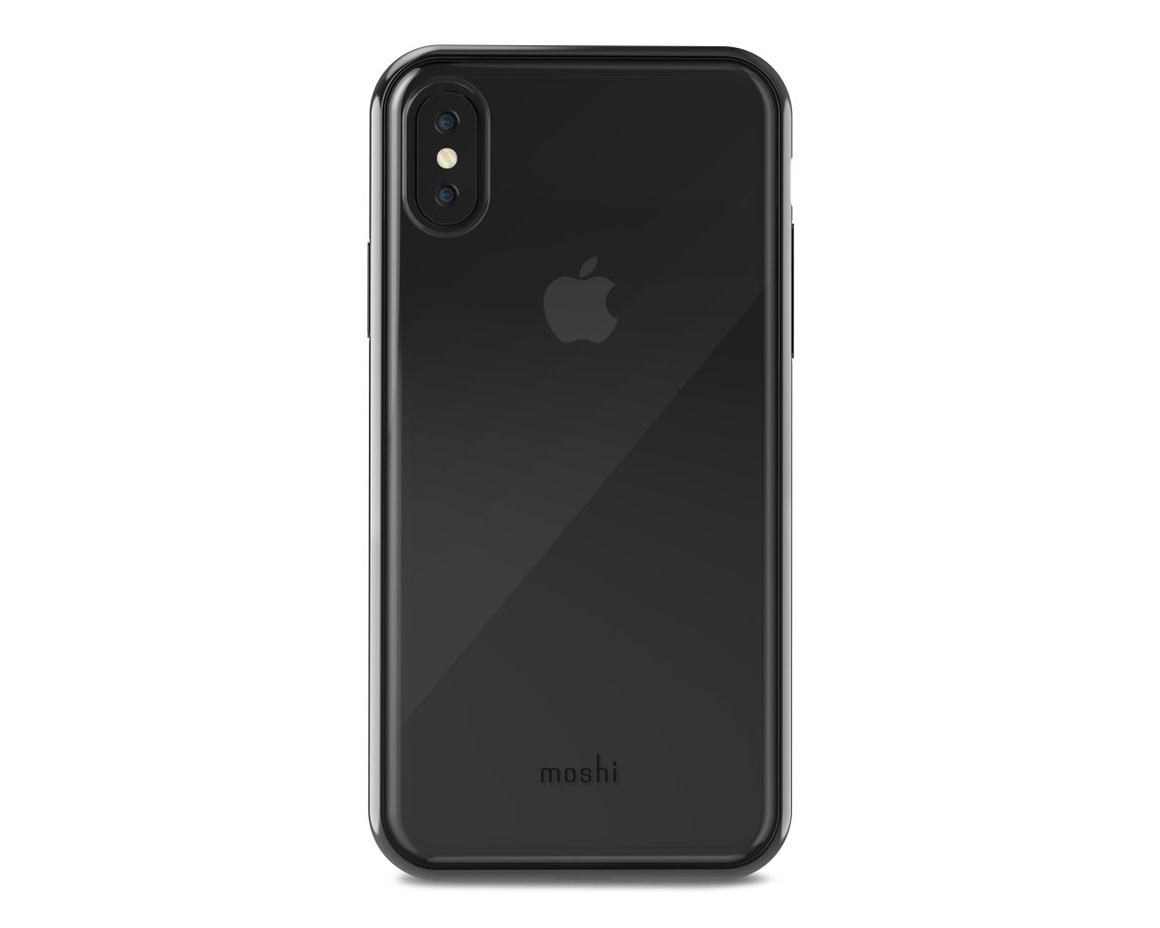 Moshi - Vitros för iPhone X Gunmetal Gray