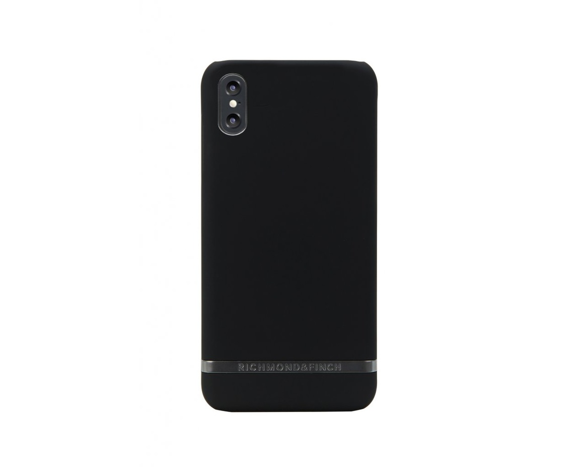 R&F - Black Out - Matte Black details för iPhone X