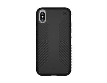 Speck Presidio Grip - Black/Black för iPhone X