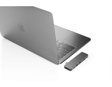 Hyper - HyperDrive SOLO Hub for MacBook & USB-C Devices (Space Gray)