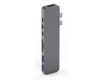 Hyper - HyperDrive PRO Hub for USB-C MacBook Pro (Gray)