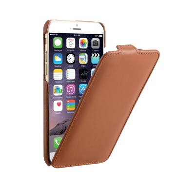 Decoded Leather Flip Case iPhone 6 - brown