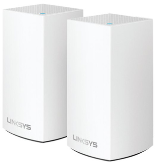 Linksys Velop WHW0102 MESH - Trådlös router - 802.11ac - Dubbelband (paket om 2)