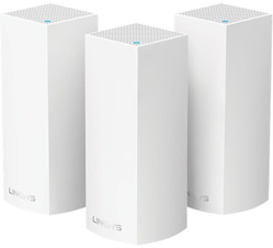 Linksys Velop WHW0303 MESH - Trådlös router - 802.11ac - Trippelband (paket om 3)