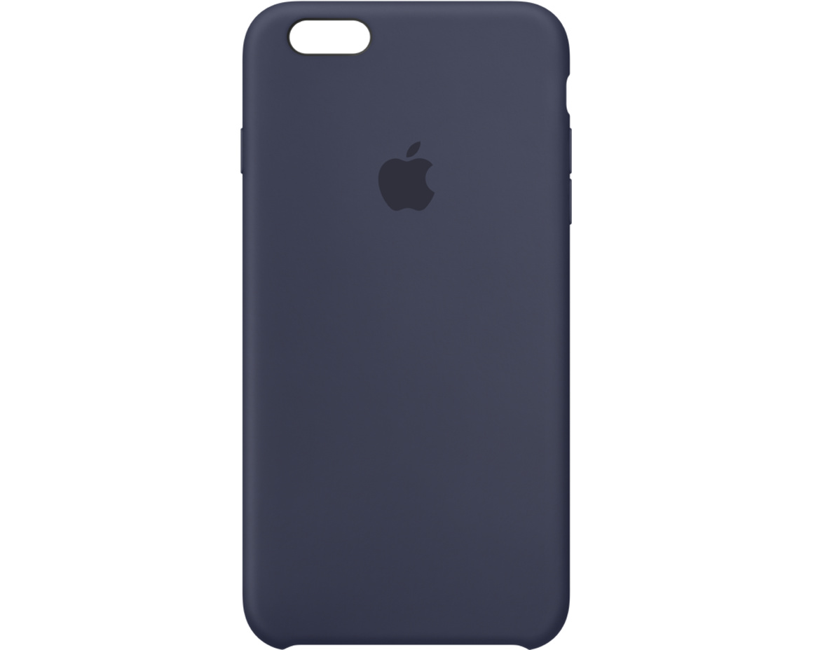 Apple iPhone 6s Plus Silicone Case - Midnattsblå