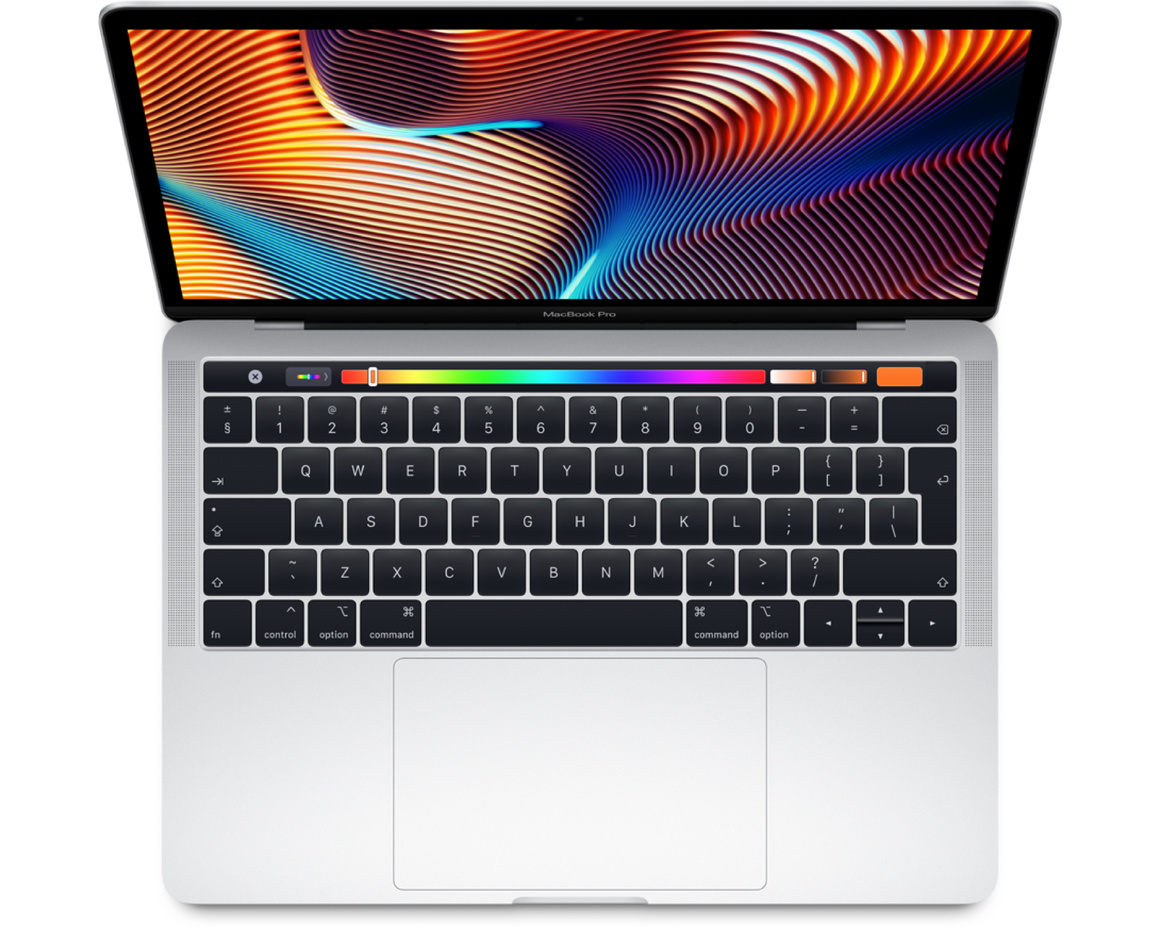 MacBook Pro 13 med Touch Bar i5 2.4GHz/8GB/512GB - Silver