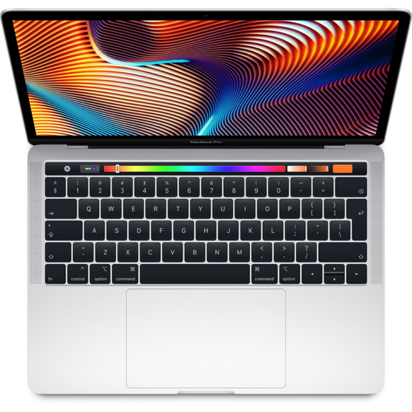 "MacBook Pro 13"" med Touch Bar: 2.3GHz/Intel Core i5/256GB - Silver"