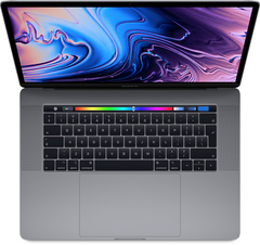 "MacBook Pro 15"" med Touch Bar 2018"